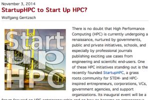 There is no doubt that High Performance Computing (HPC) is currently undergoing a renaissance, nurtured by governments, public and private initiatives, schools, and especially by professional journals publishing exciting use cases from engineering and scientific end-users...